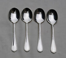 CHRISTOFLE SPATOURS 4 CUILLERES A GLACE EN METAL ARGENTE - Silverplate Ice Cream