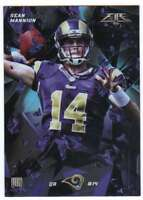 2015 Topps Fire Rookies Silver Foil Parallel RC #39 Sean Mannion Rams