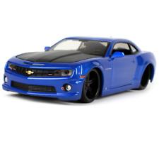 Maisto 1:24 2010 Chevrolet Camaro SS RS Diecast Metal Model Car Blue