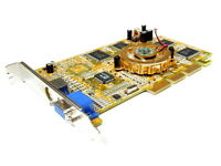 Prolink GeForce4 MX440SE VGA S-Video AGP Graphics Card MVGA-NVG17GA 64MB W/TV