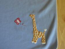 Lambs & Ivy Blue Baby Boy Girl Lovey Security Blanket Giraffe Butterfly Jungle