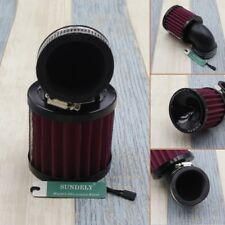 Universal 45mm Inlet Dia 90 Degree Bend Clamp-on Motorcycle Air Intake Filter