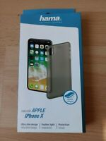 Apple iPhone X Cover HAMA Ultra Slim Design 0,4 mm NEU & OVP