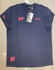 Rapha Men's EF Education First T-Shirt Dark Navy Size XXL Brand New With Tag