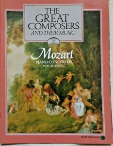 The Great Composers And Their Music Magazine V2 Part 21 Mozart Piano Concertos