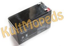Gel Batterie Akku pas. f. Simson Elektrostarter 12V 7 Ah SD50 Albatros SR50 SR80