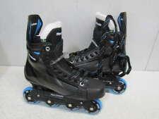Marsblade 01 Hockey Roller Blades Size 7.5D - Black/Blue