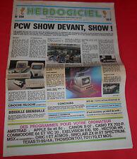 Magazine Hebdogiciel [n°100 13 Sept 85] Amstrad  MSX Commodore NO TILT *JRF