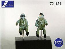 PJ Productions 1/72 F-16/F-18 Pilots Seated x 2 # 721124