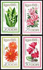 EBS East Germany DDR 1966 International Horticultural Show Michel 1189-1192 MNH*