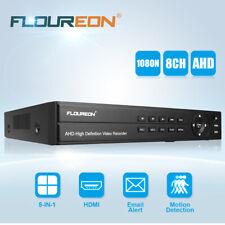 FLOUREON 5-in-1 Digitale Videosorveglianza 8CH CANALI 1080P 1080N HDMI CCTV DVR