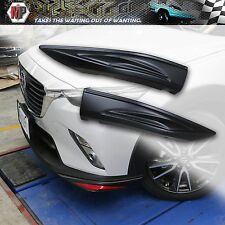 Front Lip (L&R)  Fit 2016 Mazda CX3 OE Style ABS Unpainted Material