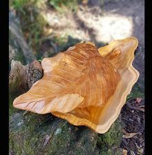 Carved Teak Root Leaf Box,Fruit Bowl Platter,Rustic Kitchen,Wooden Home Decor