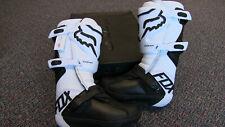 Fox Racing MX19 Comp Mens Motocross Boots - White - 8