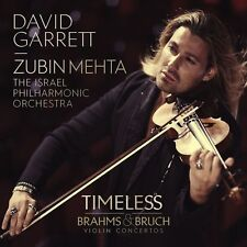 DAVID GARRETT - TIMELESS-BRAHMS & BRUCH VIOLIN CONCERTOS  CD NEW+