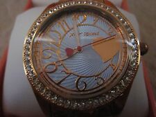 BETSEY JOHNSON BJ00048-141 Bing Bing Time Boyfriends Crystal Bezel Watch NWB