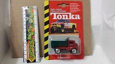 2001 Hasbro Maisto Die Cast Collection Tonka Dump Truck On Card & Protecto - Pak