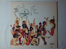 COLONNA SONORA A chorus line - The movie lp USA SOUNDTRACK COME NUOVO NEAR MINT