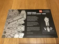 🔹RARE🔹 Lego Star Wars 75192 UCS Collectors VIP Card 🔹LIMITED EDITION🔹🔹