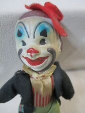 Vintage Collectible Hand-Painted Clown / Estate Find