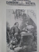 Play Cyrano De Bergerac at the Lyceum theatre London 1898 old print S Begg