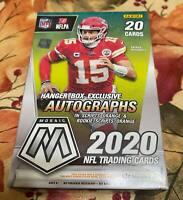 2020 Panini Mosaic NFL Football Factory Sealed Hanger Box, Herbert Tua Hurts!