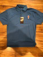 Kenworth Truck Motors Shirt Blue Polo Shirt S