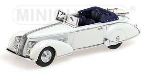 Minichamps 437125330 Lancia Astura Tipo 233 Corto Blanc 1:43 Limité Neuf + Ovp