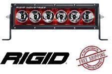 "Rigid Industries Radiance Plus 10"" LED Light Bar - Broad Spot/ Red Back Light"