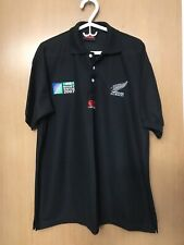 Canterbury New Zealand All Blacks 2007 iRb Rugby World Cup Shirt