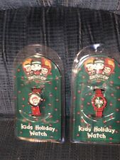 Vtg Raggedy Ann and Andy Snowden Kids Holiday Christmas Watch Mip New 1998