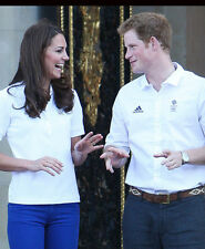 Catherine, Duchess of Cambridge & Prince Harry UNSIGNED photo - H5818