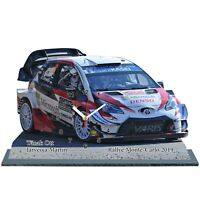 TANAK Ott, Rallye Monte Carlo 2019, Toyota Yaris WRC, en horloge miniature 01