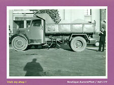 PHOTO DE POLICE CONSTAT D'ACCIDENT 1956, CAMION TRAVAUX PUBLICS LEVESQUE  -J77