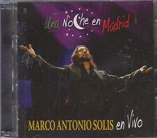 CD - Marco Antonio Solis NEW Una Noche En Madrid CD/DVD - FAST SHIPPING !