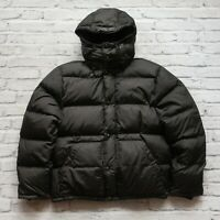 Vintage Polo Ralph Lauren Quilted Down Hoody Jacket Size M Puffer Puffy