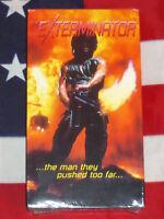 NEW The Exterminator (VHS, 1980) Vigilante Vietnam Horror Revenge Anchor Bay NEW