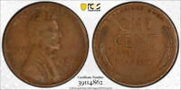 1922 No D 1C Strong Reverse Lincoln Wheat Cent PCGS XF 45 Extra Fine to AU Sharp