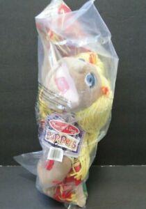 Melissa & Doug Puppets: Cheerleader Hand Puppet #2554