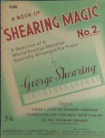 A Book of Shearing Magic No.2 6 Famous Melodies for Piano George Shearing B23289