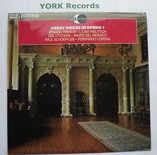 GREAT VOICES IN OPERA 1 - Various - Ex Con LP Record Decca Eclipse ECS 811