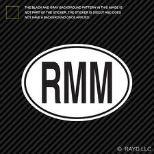 RMM Mali Country Code Oval Sticker Decal Self Adhesive Malian euro