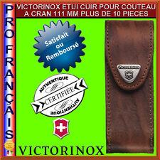 VICTORINOX ETUI CUIR COUTEAUX SUISSES DE 111 MM A PARTIR DE 11 PIECES 4.0548
