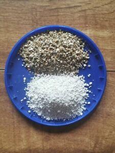 6lt PREMIUM PERLITE 3-5mm  +  6lt OF  MED VERMICULITE TOTAL 12lt  ,  HYDROPONICS