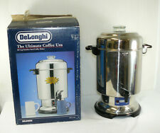 Delonghi Dcu60 60 Cup Stainless Steel Commercial Coffee Pot Percolator Urn
