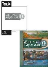 BJU Press - Writing and Grammar 9 Student Worktext and Tests 3Ed