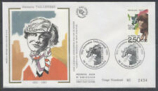 FRANCE FDC - 2752 1 GERMAINE TAILLEFERRE - 11 Avril 1992 - LUXE sur soie