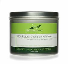 Natural Way 14oz Depilatory Hard Wax: Universal Can for Warmers