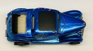 1969 Hot Wheels Redline CLASSIC '36 FORD COUPE Blue HTF WHITE INTERIOR!