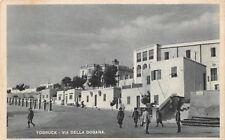1983) LIBIA, TOBRUCK, VIA DELLA DOGANA.